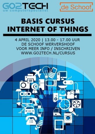 Basiscursus Internet of Things: 4 april